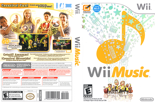 Wii Music Wii cover (R64E01)