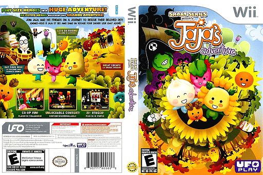 Smart Series Presents: JaJa's Adventure Wii cover (R67E6K)