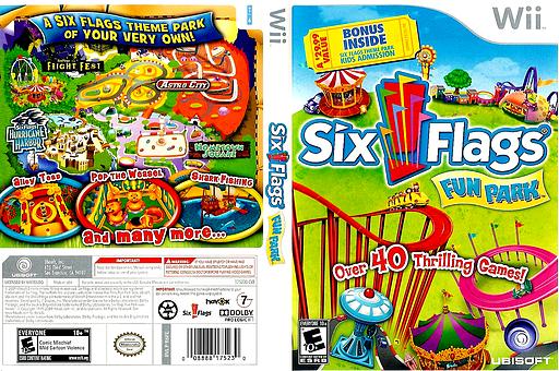 Six Flags Fun Park Wii cover (R6FE41)