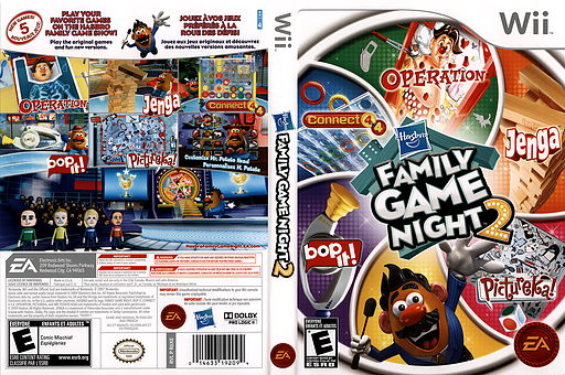 Hasbro: Family Game Night 2 Wii cover (R6XE69)