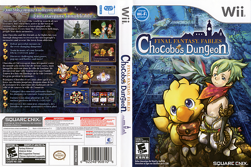 Final Fantasy Fables: Chocobo's Dungeon Undub CUSTOM cover (R7FEUD)