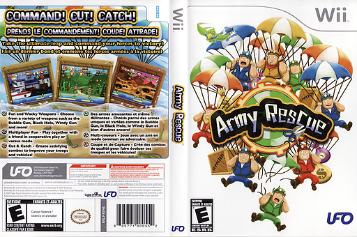 Army Rescue Wii cover (R7HE6K)