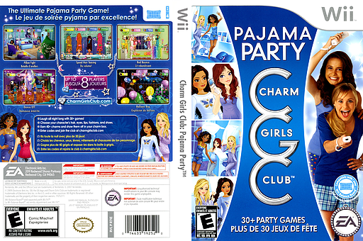 Charm Girls Club: Pajama Party Wii cover (R7IE69)