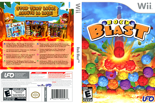Rock Blast Wii cover (R7KE6K)
