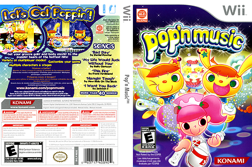 Pop'n Music Wii cover (R83EA4)