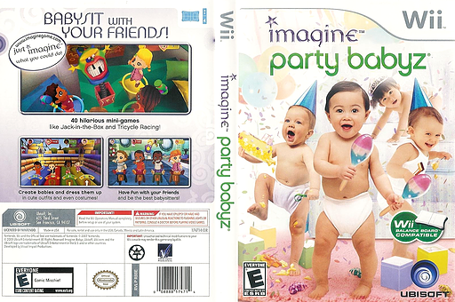 Imagine Party Babyz Wii cover (R8BE41)