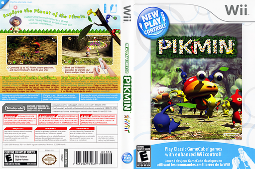 Pikmin Wii cover (R9IE01)