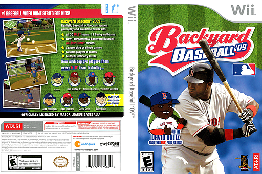 Backyard Baseball '09 Wii cover (RB8E70)