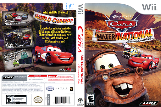 Cars: Mater-National Wii cover (RC2E78)