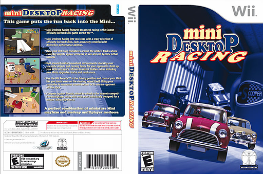 Mini Desktop Racing Wii cover (RCEE5Z)
