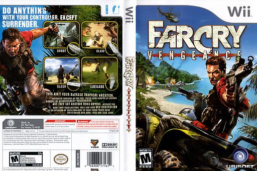 Far Cry: Vengeance Wii cover (RCVE41)