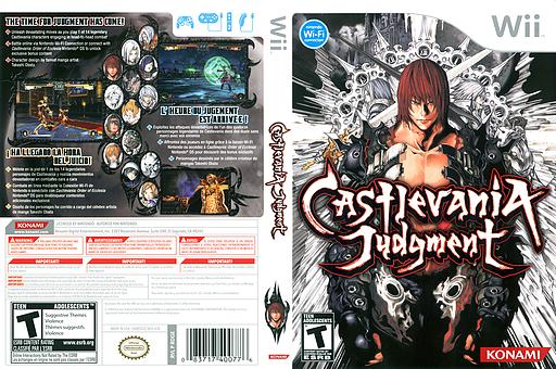 Castlevania Judgment Wii cover (RDGEA4)