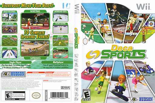 Deca Sports Wii cover (RDXE18)