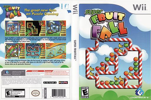 Super Fruit Fall Wii cover (RF4E36)