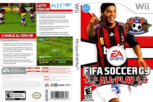 FIFA Soccer 09 All-Play Wii cover (RF9E69)