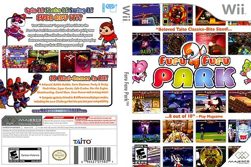Furu Furu Park Wii cover (RFRE5G)