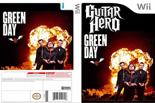 Guitar Hero III Custom:Green Day Plus CUSTOM cover (RG0E52)