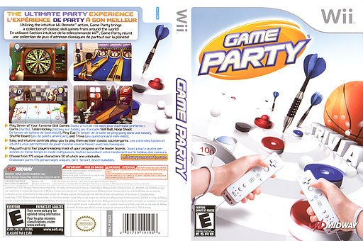 Game Party Wii cover (RGXE5D)