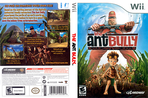 The Ant Bully Wii cover (RI3E5D)