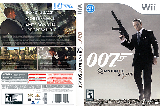007: Quantum of Solace Wii cover (RJ2E52)