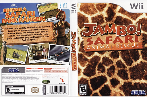 Jambo! Safari Animal Rescue Wii cover (RJJE8P)