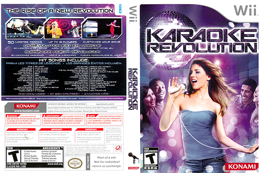 Karaoke Revolution Wii cover (RK9EA4)