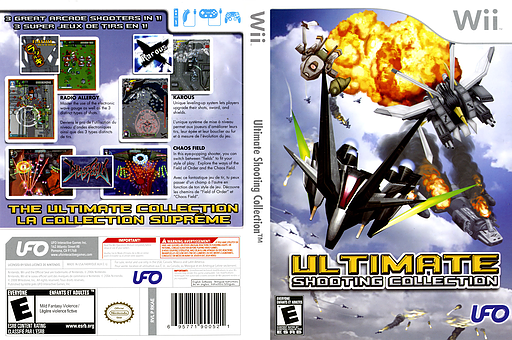 Ultimate Shooting Collection Wii cover (RKAE6K)