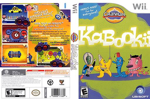 Cranium Kabookii Wii cover (RKBE41)