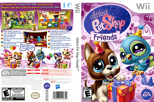 Littlest Pet Shop: Friends Wii cover (RL7E69)