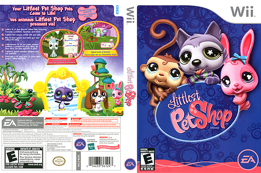 Littlest Pet Shop Wii cover (RLPE69)