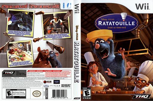 Ratatouille Wii cover (RLWE78)