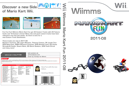 Wiimms MKW Fun 2011-08.ntsc CUSTOM cover (RMCE11)