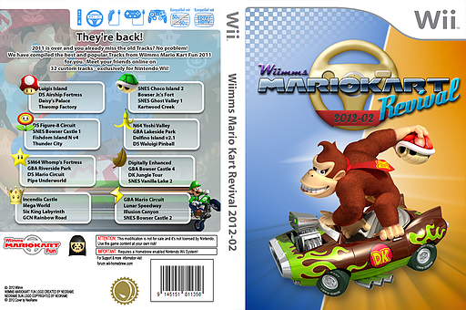 Wiimms MKW Revival 2012-02.ntsc CUSTOM cover (RMCE14)