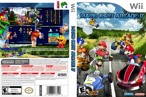 Mario Kart Arcade JY CUSTOM cover (RMCEA8)