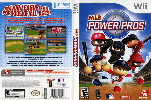 MLB Power Pros Wii cover (RMPE54)