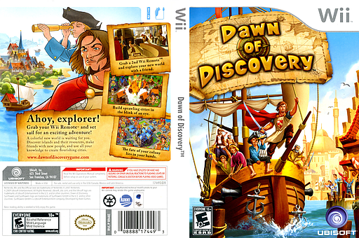 Dawn of Discovery Wii cover (RN4E41)