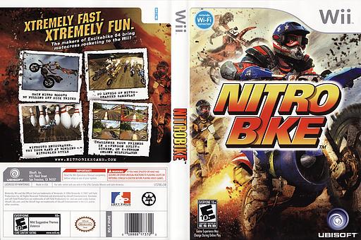 Nitro Bike Wii cover (RNRE41)