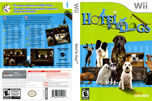 Hotel for Dogs Wii cover (ROEEJZ)
