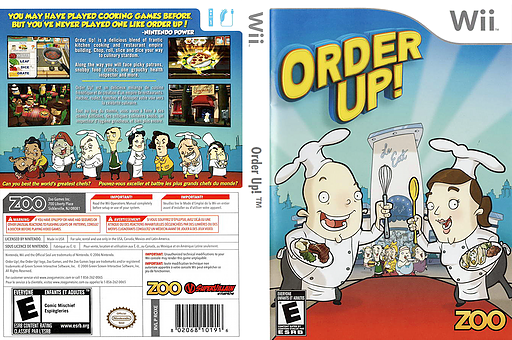 Order Up! Wii cover (ROXE20)