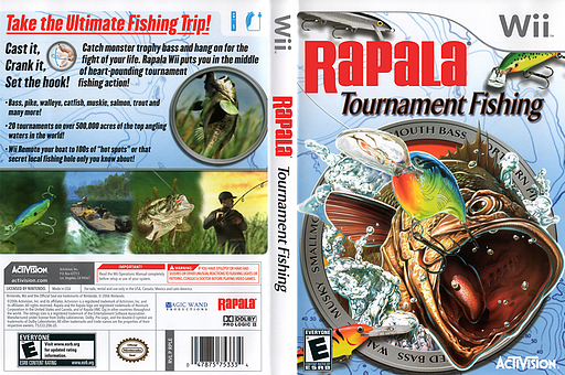 Rapala Tournament Fishing Wii cover (RPLE52)