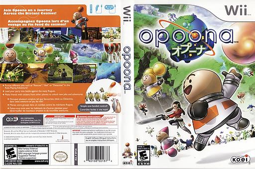 Opoona Wii cover (RPOEC8)