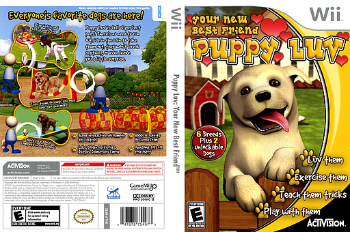 Puppy Luv: Your New Best Friend Wii cover (RPTE52)