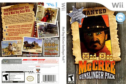 Mad Dog McCree Gunslinger Pack Wii cover (RQ5E5G)
