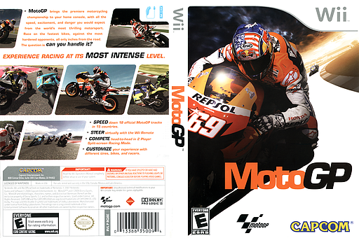 MotoGP 08 Wii cover (RQ8E08)