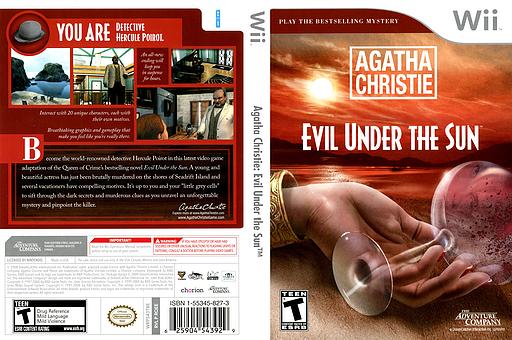 Agatha Christie: Evil Under the Sun Wii cover (RQEE6U)