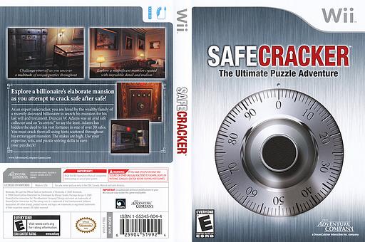 Safecracker: The Ultimate Puzzle Adventure Wii cover (RQFE6U)