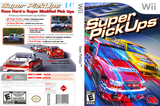 Super PickUps Wii cover (RQUEFS)