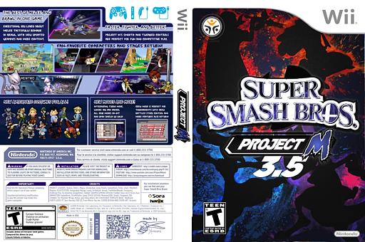 Super Smash Bros. Project M 3.5 Netplay Build CUSTOM cover (RSBEC3)