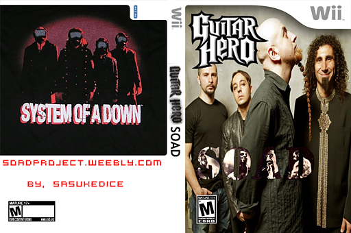 Guitar Hero III Custom : System of a Down CUSTOM cover (RSJESD)