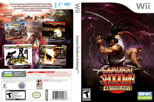 Samurai Shodown Anthology Wii cover (RSSEH4)